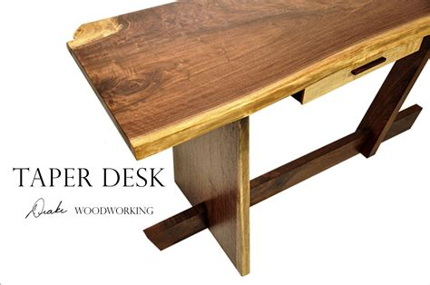 custom made taper desk by woodworking custommade