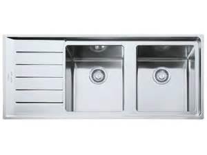 lavello inox 2 vasche lavello a 2 vasche in acciaio inox con sgocciolatoio