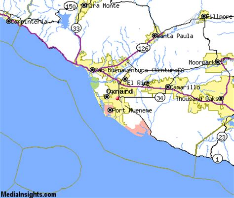 california map oxnard oxnard vacation rentals hotels weather map and attractions