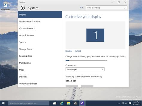 pin settings to the start menu in windows 10