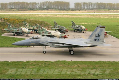 mcdonnell douglas f 15c eagle usa air aviation photo 1346499 airliners net