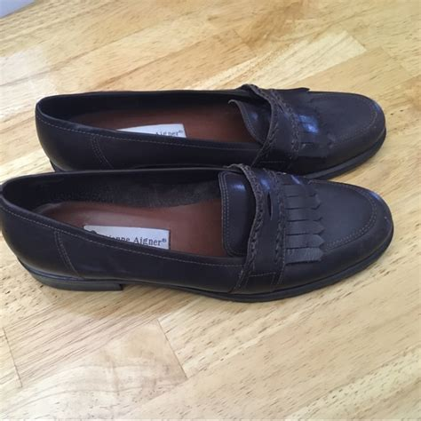 Aigner Leather 9 83 etienne aigner shoes etienne aigner leather flats size 7 5 from andrea s closet on