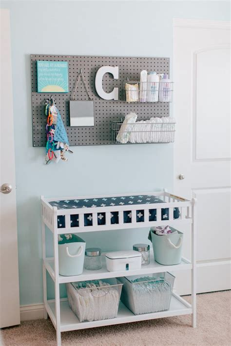 Changing Table Organizer Ideas Best 20 Changing Table Storage Ideas On Pinterest Changing Tables Changing Table