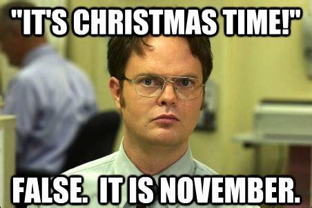 November Meme - psa november is not christmas