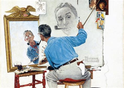 biography norman rockwell rockwell s portraits of white house hopefuls on displayed