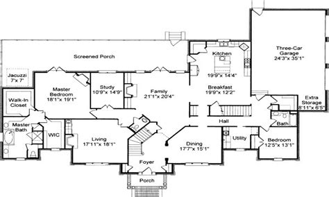 colonial house floor plans traditional colonial house