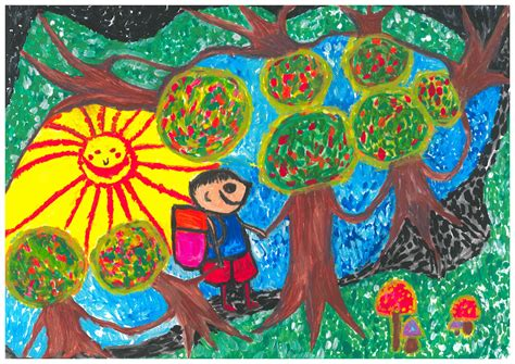 themes of drawing competition quot what is the forest for me quot drawing competition 2013
