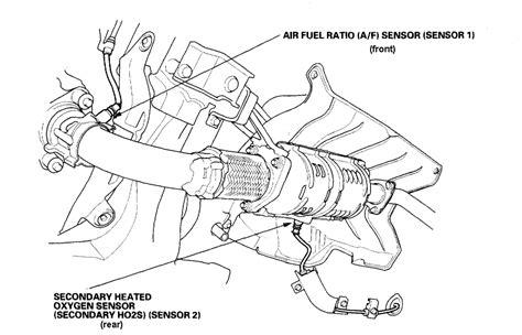 2005 honda accord oxygen sensor location honda odyssey o2 sensor location get free image about