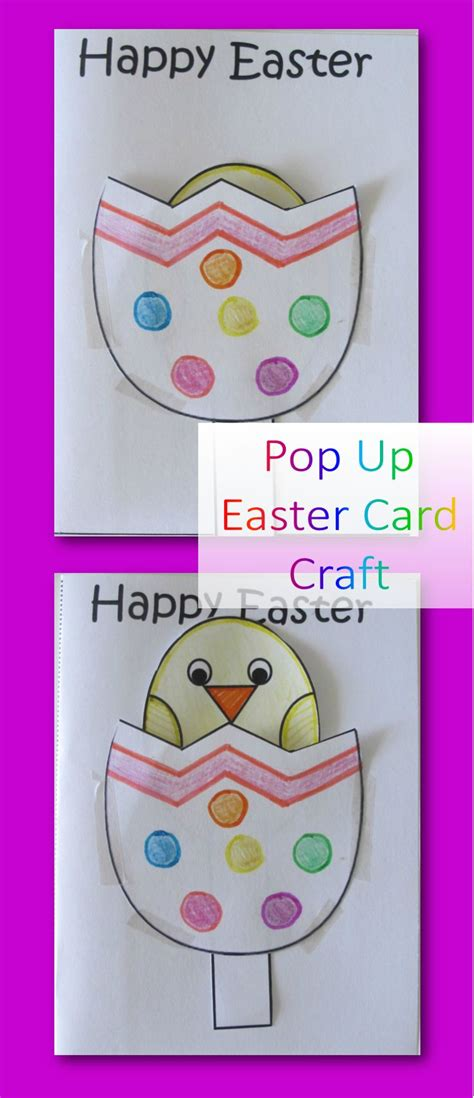 Pop Up Easter Card Template Free by Pop Up Easter Cards Are So And Really Easy To Make