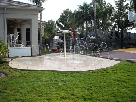 phoenix residential splash pads installation and design