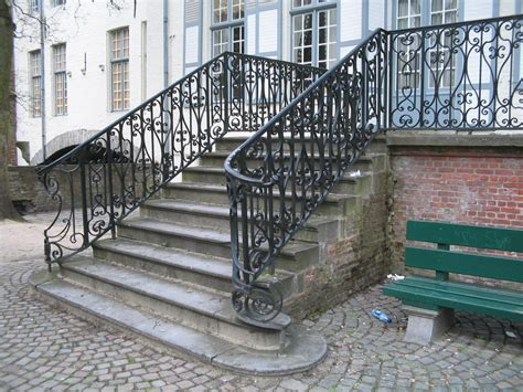Banisters And Railings Home Depot Stairs Astonishing Outdoor Metal Stair Railing Appealing