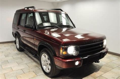 how cars run 2004 land rover discovery navigation system purchase used 2004 land rover discovery hse7 navigation low miles rare color in paterson new