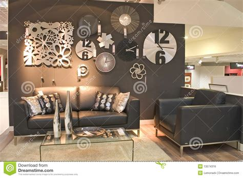 living room clock living room with clocks stock photo image of furniture