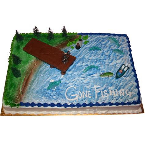 fathers day 2025 2025 fishing sheet cake abc cake shop bakery
