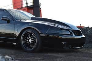 Black 2010 Mustang My Cobra On The Lrs Sve Series 1 Wheels Svtperformance Com