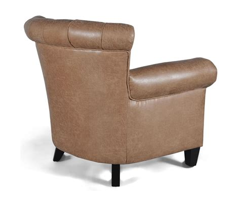 Faux Leather Armchair by Gustav Sand Faux Leather Armchair