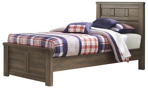 signature design  ashley juno transitional twin panel bed john  schultz furniture panel beds