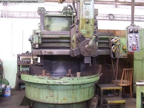 Lathes Stanko Sedin 1516 Vertical Turret Lathe Single
