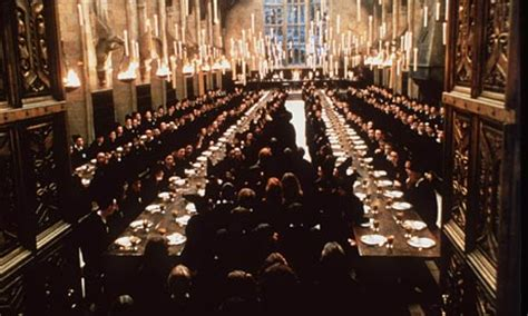 hogwarts dining room harry potter and the chamber of lawyers life and style