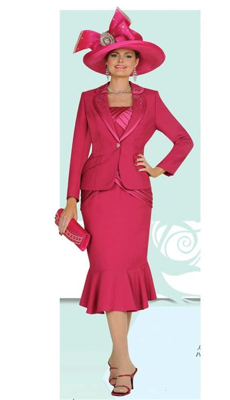 Jc Jacket Vinci 3 womens church suit with tank jacket and skirt