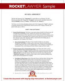 Buy Sell Agreement Template Buy Sell Agreement Form Sample Buy Sell Agreement Template