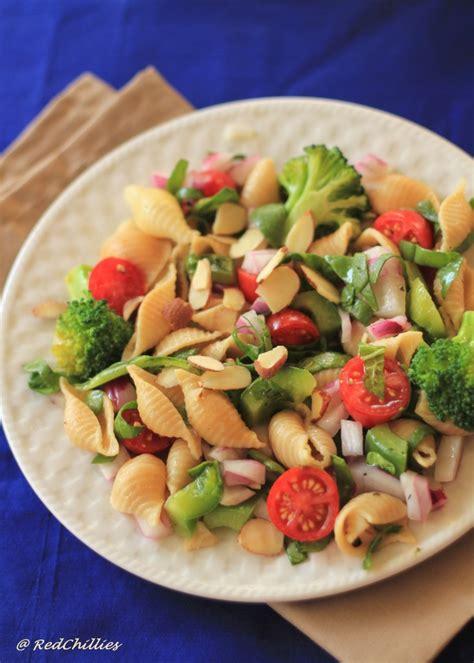 Garden Pasta by Garden Pasta Salad Recipe Dishmaps