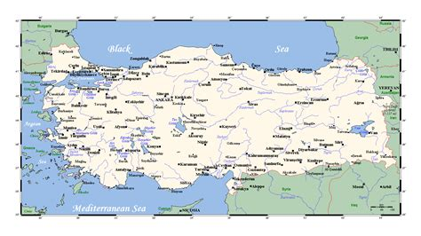 world map detailed with cities detailed map of turkey with major cities turkey asia