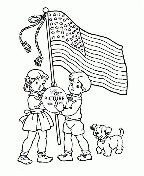 usa coloring pages for preschool american flag heart coloring pages