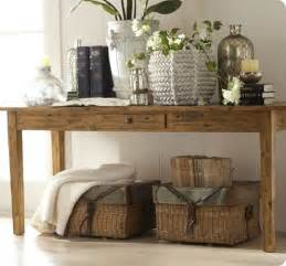 sofa table ideas remodelaholic 25 ways to decorate a console table