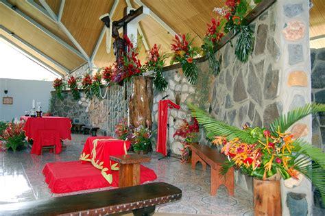 l decoration marquises d 233 coration de l 233 glise de hakahau pour la