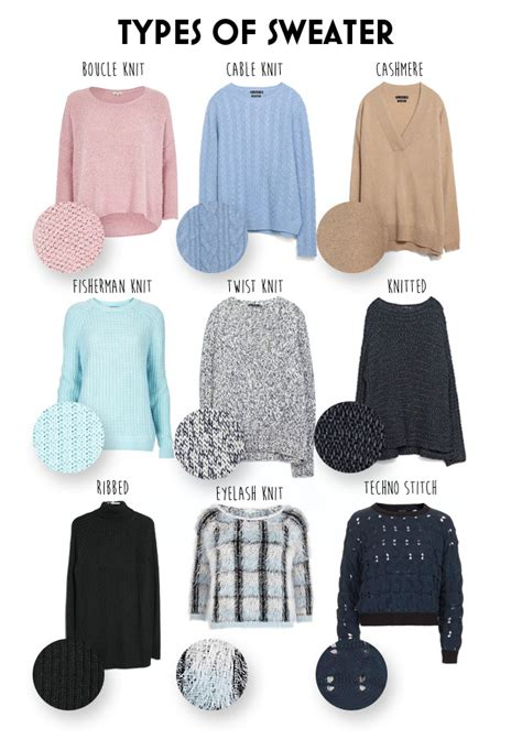 types of knits the different types of sweater knits preview