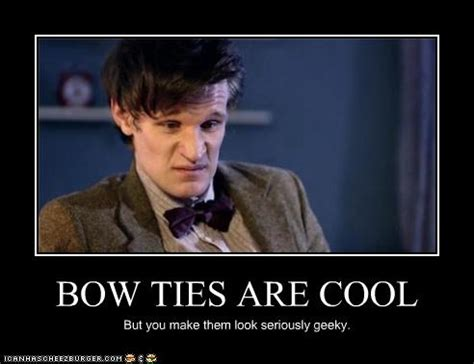 Tie Meme - bow ties are cool meme
