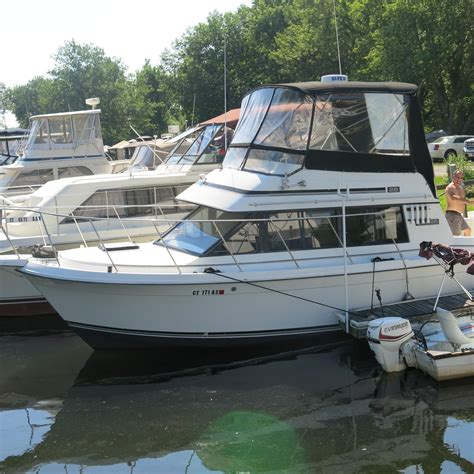 boats for sale in chester ct 1987 carver mariner 28 power boat for sale www