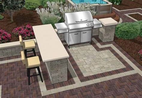 backyard bar and grill ideas outdoor bar and grill designs the interior design inspiration board