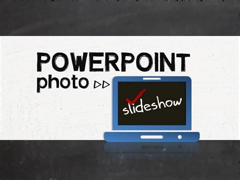 design photo slideshow create a photo slideshow in powerpoint e learning feeds