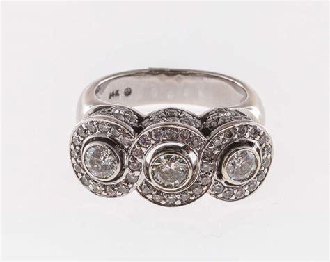 infinity design white gold ring at 1stdibs