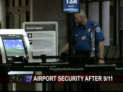 The View Discuss Airport Security by Airport Security On 9 11