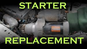starter replacement toyota lexus