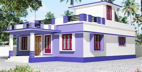 3 Bedroom Bungalow by Kerala Single Story House Model Home Design