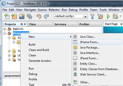membuat form login menggunakan netbeans java programming menggunakan netbeans membuat login form
