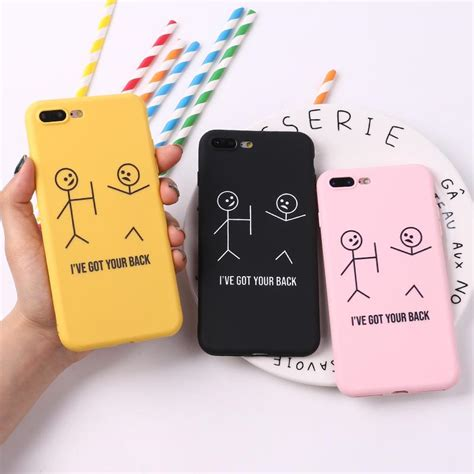 for iphone 8 8plus x 7 7plus stick figure memes cool quote words soft tpu silicone matte