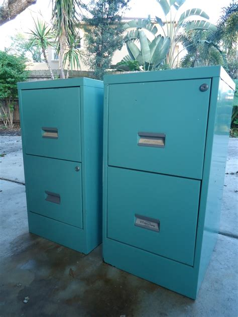 Teal File Cabinet Pin By Alva Honeyfield On For The Home Pinterest