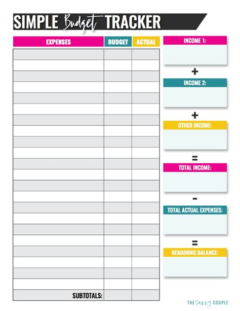 10 Budget Templates That Will Help You Stop Stressing About Money Budget Spreadsheet Template Free
