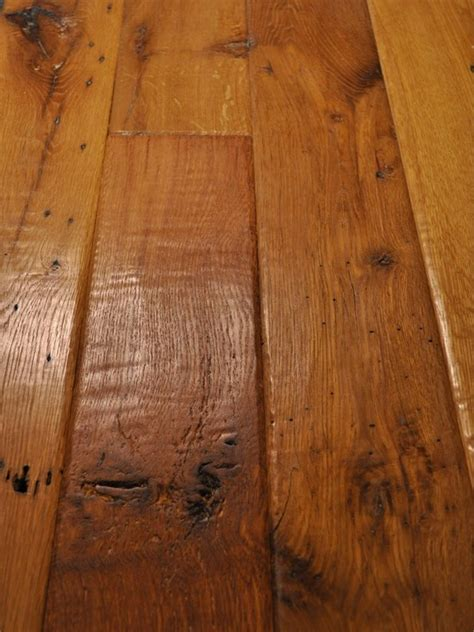 FLOOR ? Ridgefield hand scraped sculpted hardwood floors