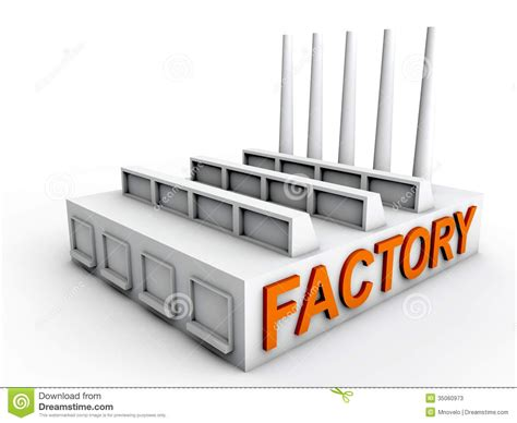 manufacturing clipart factory clipart manufacturing plant pencil and in color