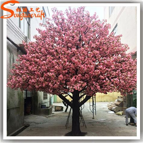 outdoor tree cherry blossom large outdoor lighted cherry blossom trees large artificial flower cherry blossom tree for