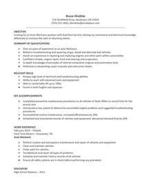 Sle Resume For Auto Mechanic by Accounting Clerk Resume Sle 26 Professional Accounting Clerk Resume Tech Resume Template
