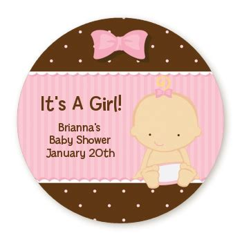 Baby Shower Label Stickers by Baby Caucasian Personalized Sticker Labels Baby