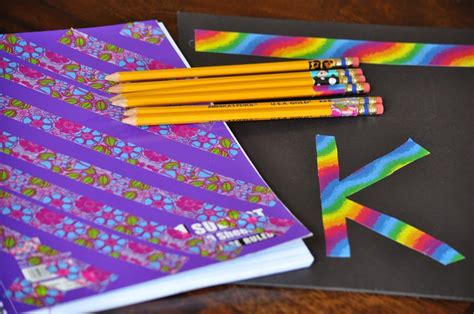 14 must have back to school ideas pinkwhen diy back to school supplies ideas diy do it your self