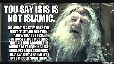 What Does Memes Stand For - you say isis is not islamic so what exactly does the